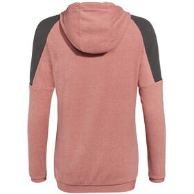 VAUDE Yaras Hooded Fleece Jacket Women dusty rose